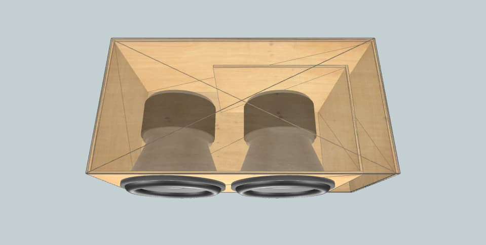 15 дюймов короб для сабвуфера Sundown Audio X15