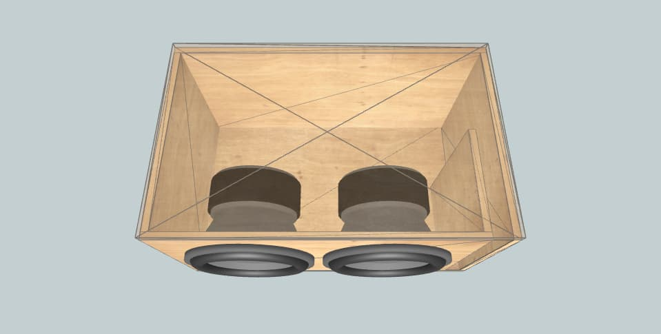 12 дюймов короб для сабвуфера Skar Jeremy's EVL 12's
