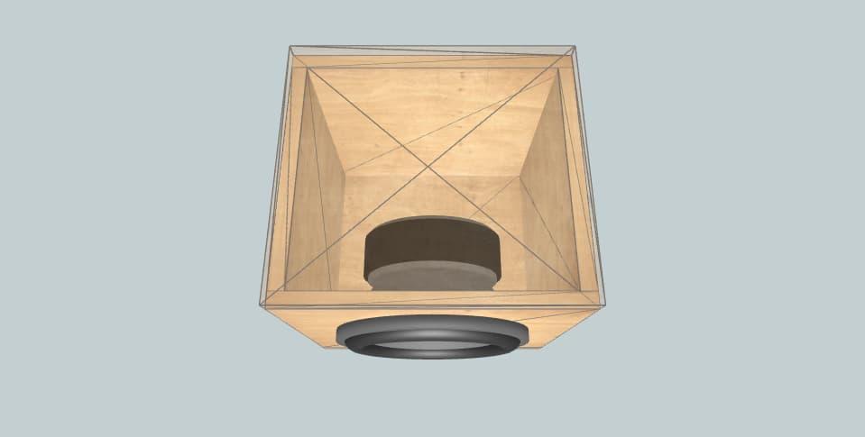 10 дюймов короб для сабвуфера Pioneer TS-A250D4 sealed