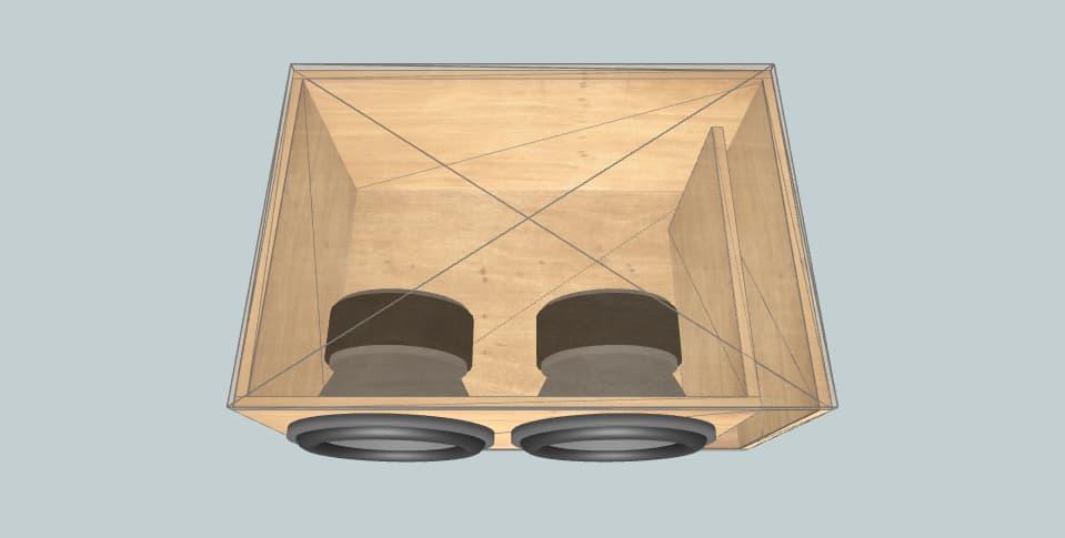 12 дюймов короб для сабвуфера Jeremy's evl12's 2.0