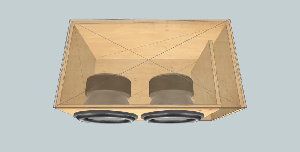 15 inch subwoofer box Hifonics brw15d4