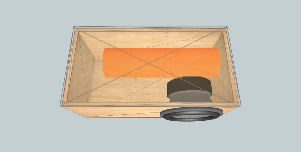 12 inch subwoofer box DL Audio Raven