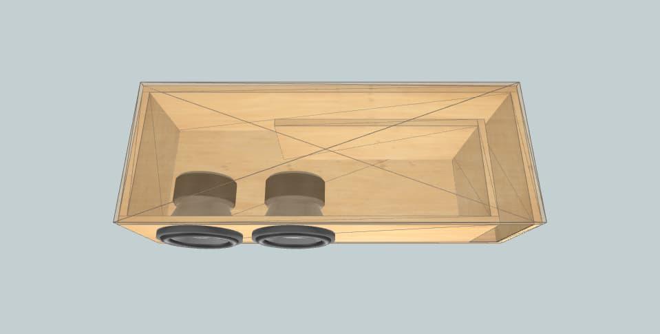 8 inch subwoofer box BD DIA8d4