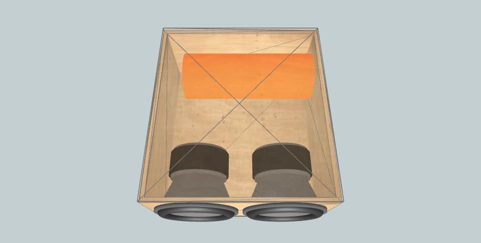 15 дюймов короб для сабвуфера Pride S15v3 27hz