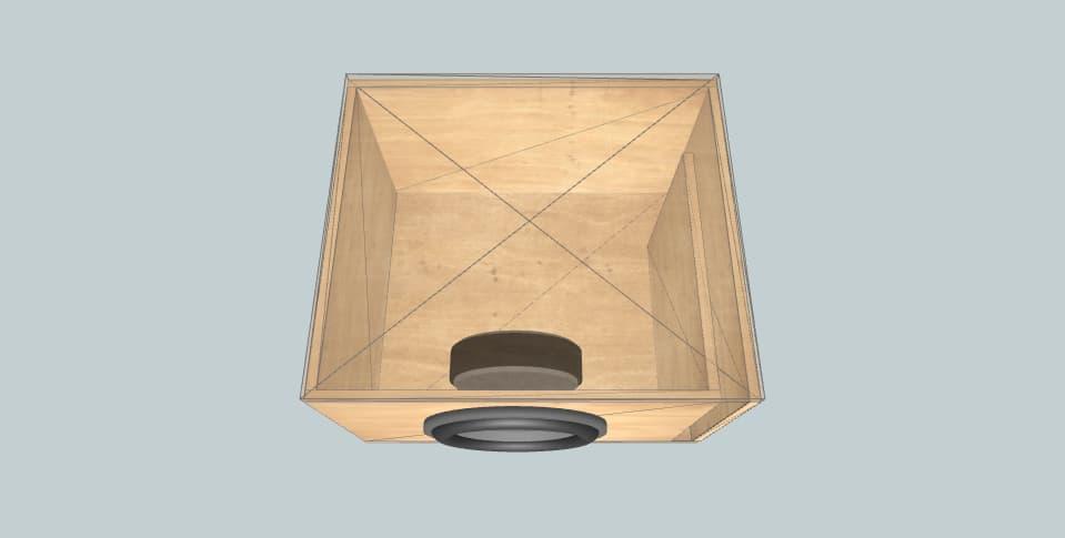 12 inch subwoofer box Molot 12
