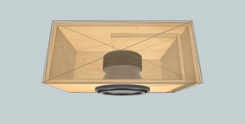12 inch subwoofer box JL Audio 12W6V2-D4