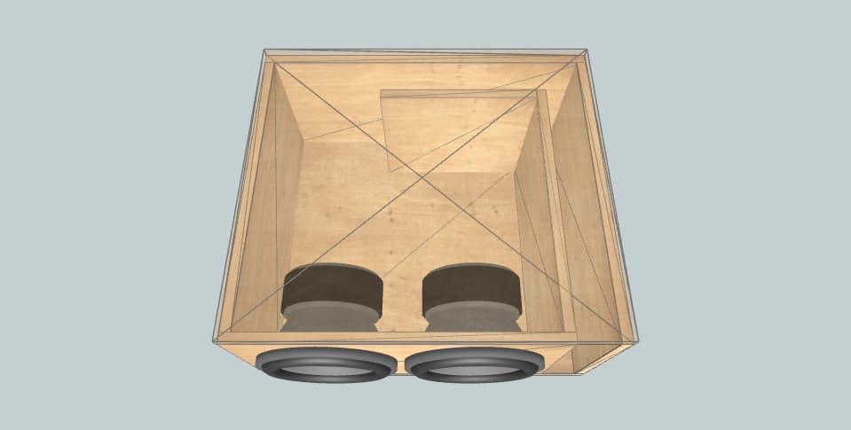 10 дюймов короб для сабвуфера Mystery ap bd2 10