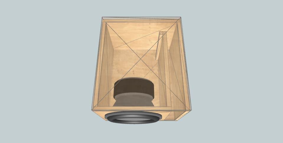 15 дюймов короб для сабвуфера Sundown Audio U15