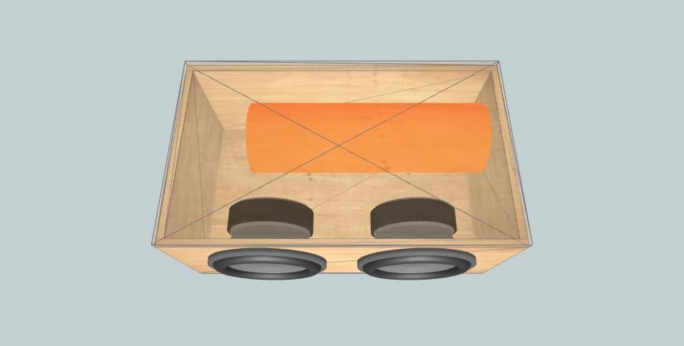 12 дюймов короб для сабвуфера Sony Xplod