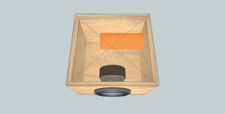 8 inch subwoofer box magnetz