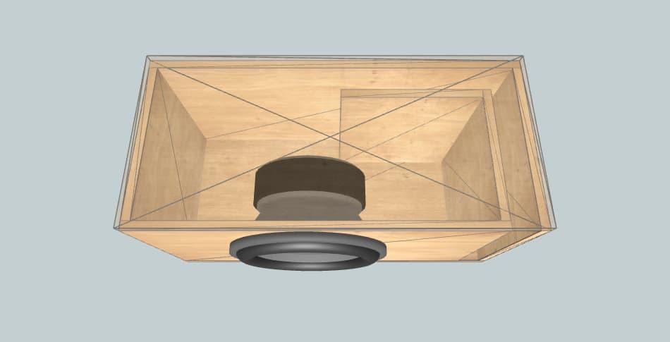 Machete M12D2 - subwoofer box