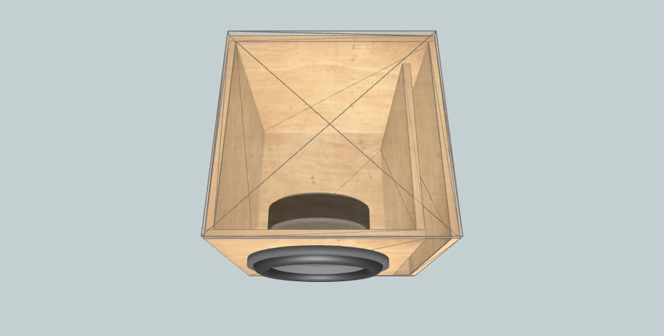 12 дюймов короб для сабвуфера beyma SM-112N