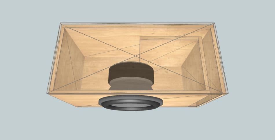 Avatar SST-2512D4 - короб для сабвуфера
