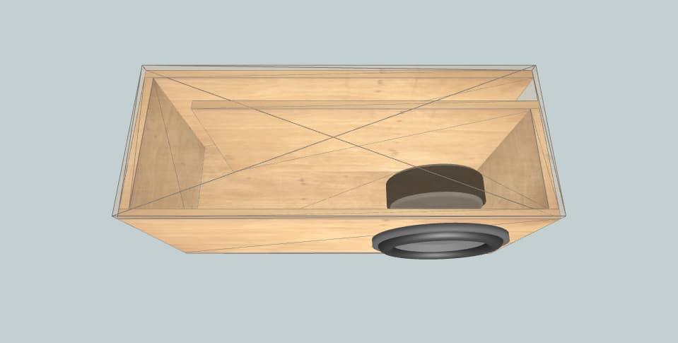 12 inch subwoofer box Sundown Audio E-12 V3