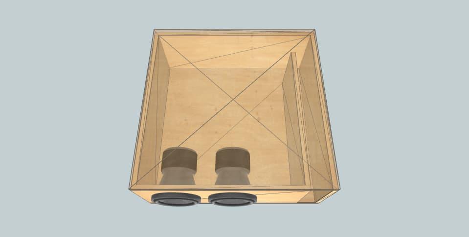 Aria NIL - subwoofer box
