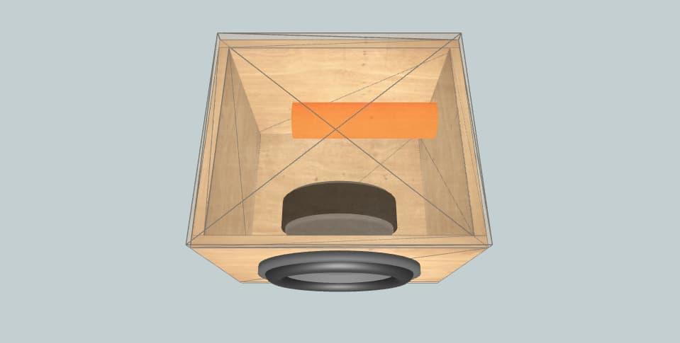 12 inch subwoofer box JL Audio 12W0v3-4