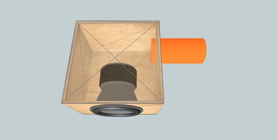 "18 inch subwoofer box EDGE edxspl 18"" - 4"