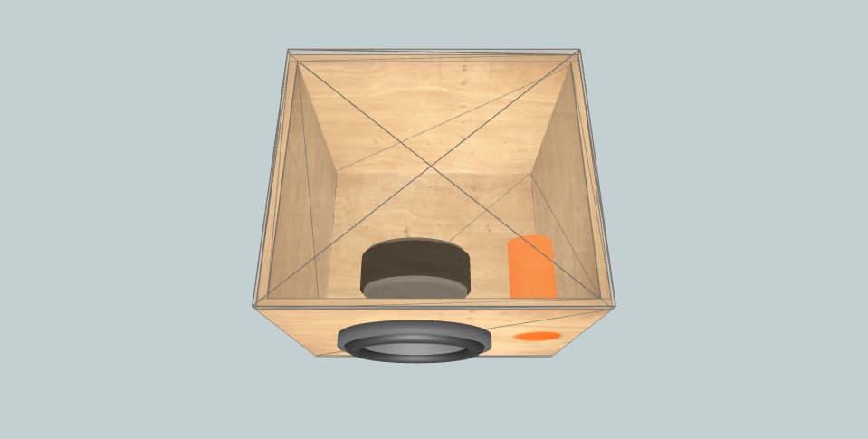 "8 дюймов короб для сабвуфера Fredo 8"""