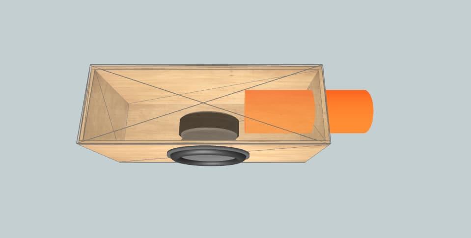 "18 inch subwoofer box EDGE edxspl 18"" - 2"