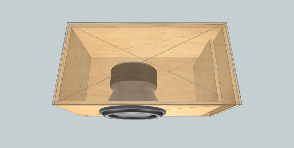15 дюймов короб для сабвуфера B2 Audio Rage 15 V2
