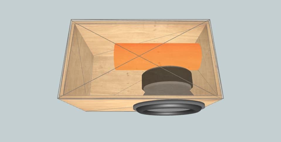 15 дюймов короб для сабвуфера Avatar SST-2515 D4