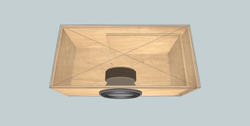 12 дюймов короб для сабвуфера Infinity primus 1370 100L