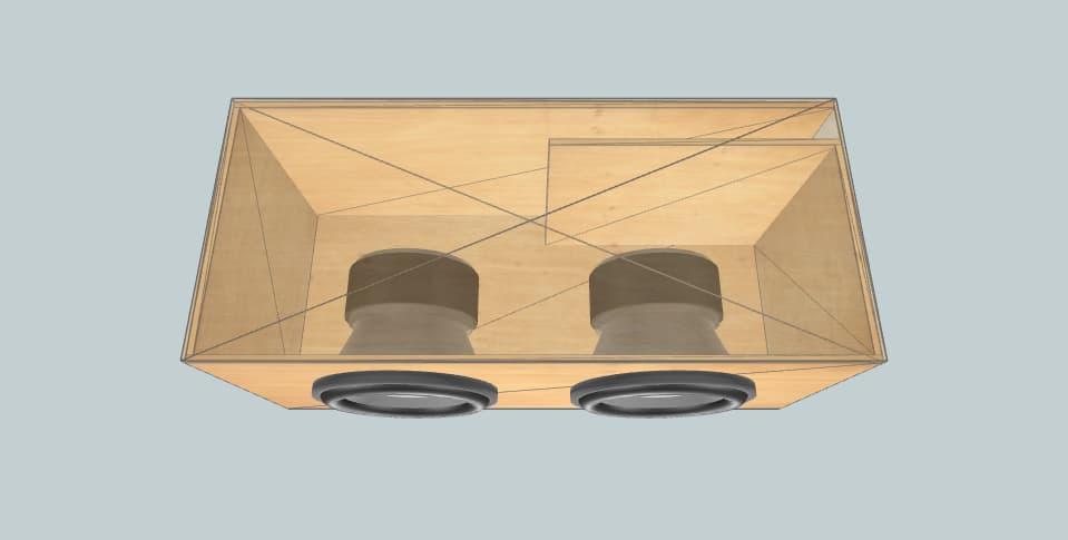 10 inch subwoofer box Pioneer Prymier