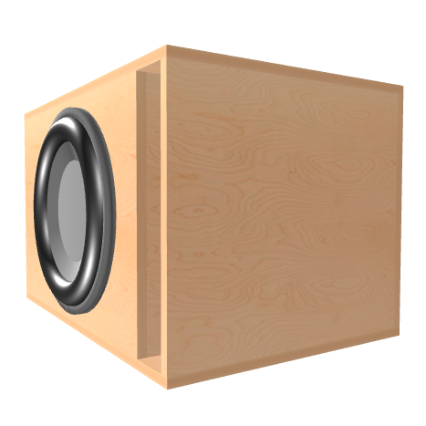 Subwoofer box for Apocalypse DB-SA2715D1/D2