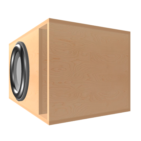 Subwoofer box for Skar DDX-15